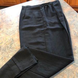 Emma James black dress slacks, size 14